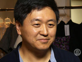 Sean Peng's company Inspirare sells women's clothing on the internet.