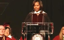 Michelle Obama delivers commencement speech at Eastern Kentucky University