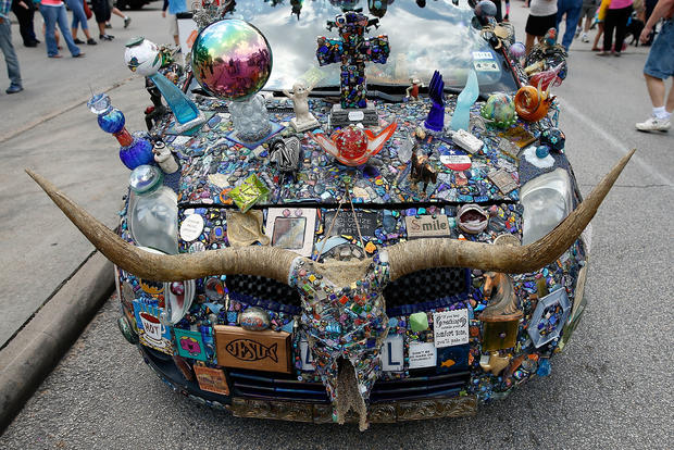 Creative cars on parade