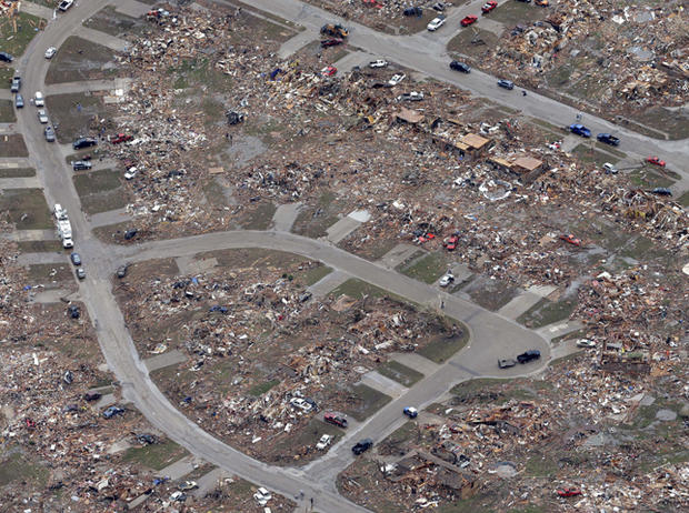 Oklahoma tornado: Before and after photos