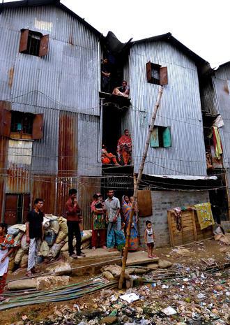 Bangladesh slum life