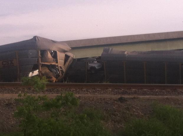 Missouri train derailment