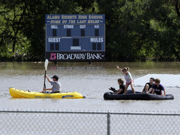 圣安东尼奥,洪水,得克萨斯州