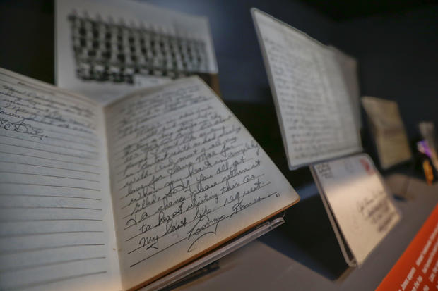 Fallen WWII soldier's diary found decades later