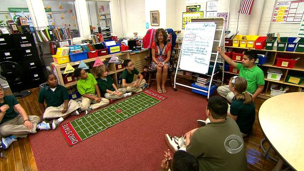 A new program in Cleveland schools is significantly helping the students test scores.