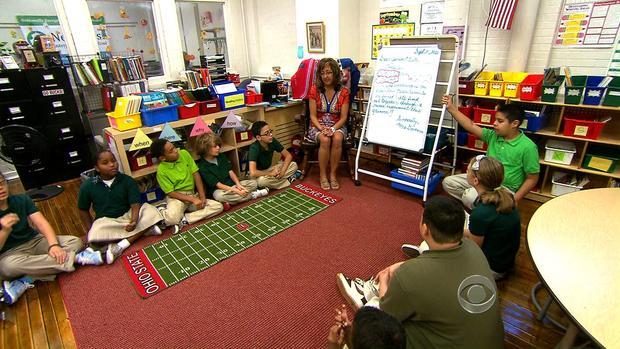 克利夫兰学校的一项新课程可以帮助学生测试成绩。