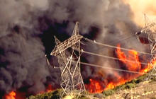 Arson to blame for fast-moving Calif. wildfire?