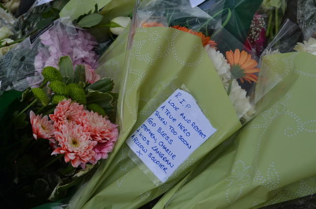 Tributes to Drummer Lee Rigby