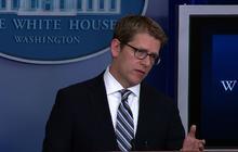 """Carney: Michelle Obama handled heckler """"brilliantly"""""""