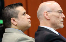 George Zimmerman in court