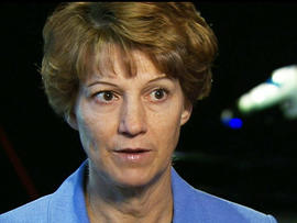 Eileen Collins was the first female to pilot a shuttle.