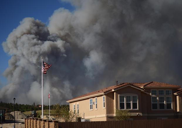Wildfires rage in Colorado