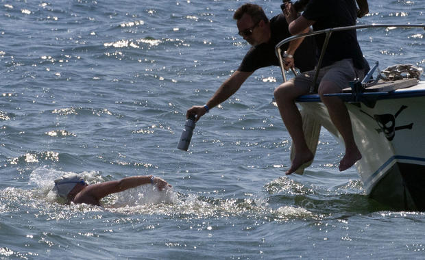 Cuba to Fla. swim cut short