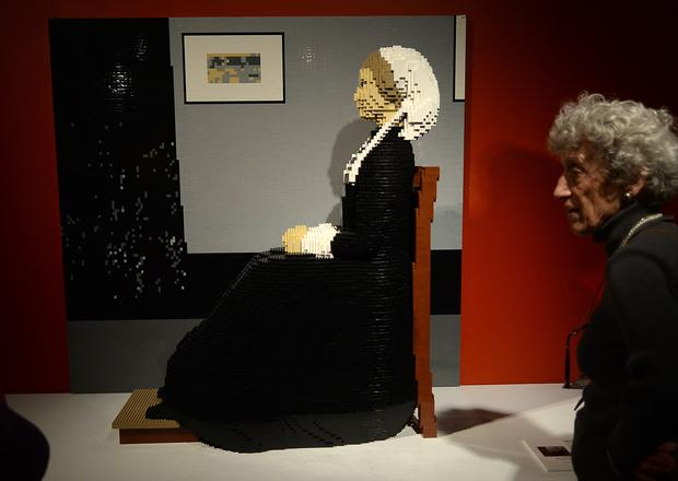 Exhibit elevates LEGOs to fine art