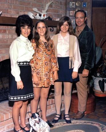Astronaut family portraits