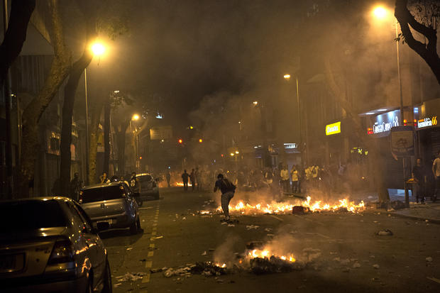 Widespread protests in Brazil
