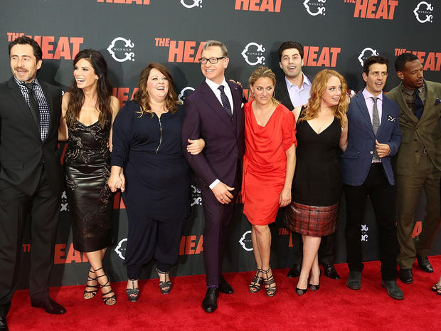 """The Heat"" premieres in N.Y."