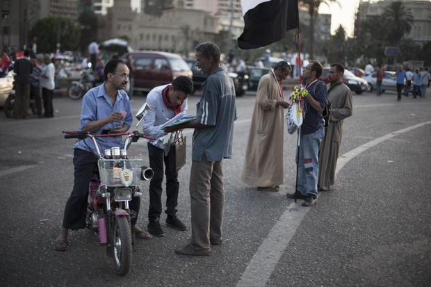 Political upheaval in Cairo