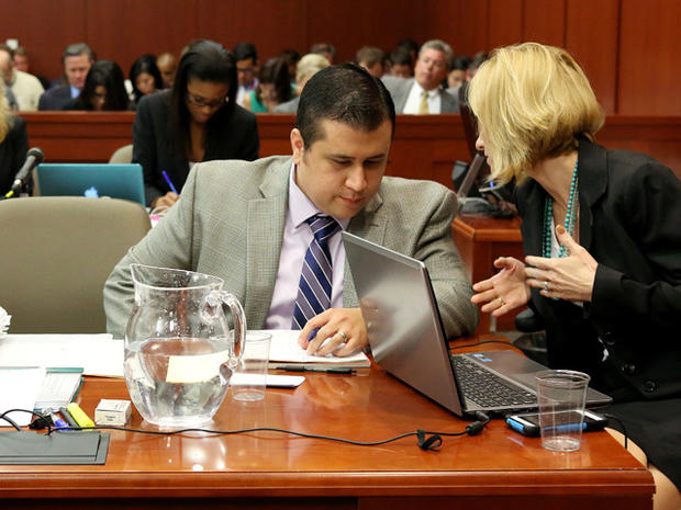 George Zimmerman on trial in death of Fla. teen