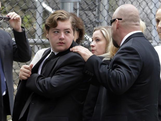 James Gandolfini's funeral