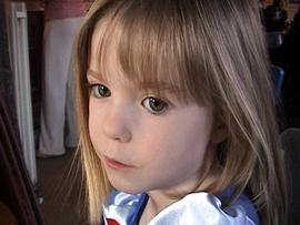 Three-year-old British girl Madeleine McCann is seen in this March 2007 picture released by the McCann family May 4, 2007.