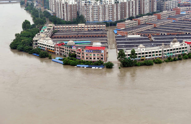 Worst flooding in 50 years hits western China