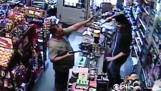 Store clerk with gun thwarts robbery suspect armed with bb for Bb shop