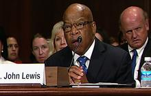 "Lewis: ""We are a better country"" because of Voting Rights Act"