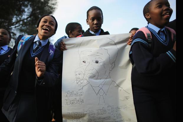 Happy 95th Nelson Mandela