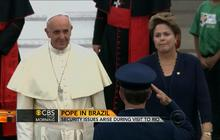 Pope visit to Brazil fraught with security problems
