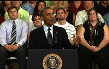 """Obama: On economy, """"Washington has taken its eye off the ball"""""""