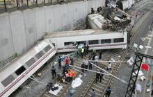 Deadly Spanish train derailment