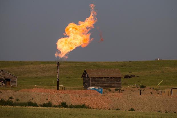 North Dakota's oil boom