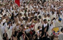3 million show up for pope's final Mass in Brazil
