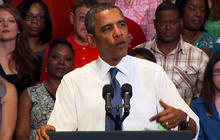 Obama: We're lacking for action, not ideas