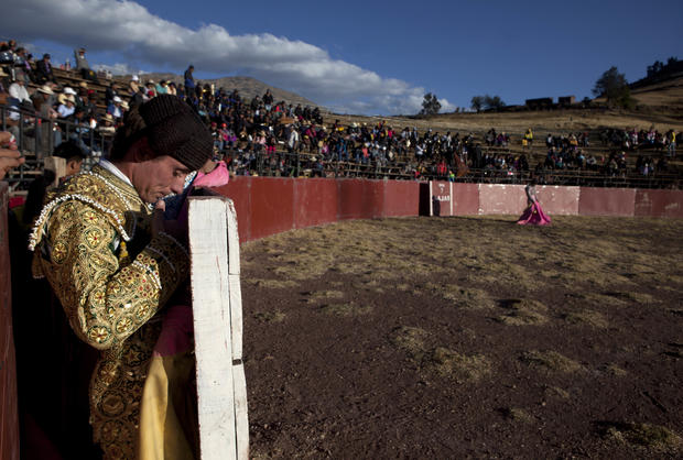 Bullfighters looking for work
