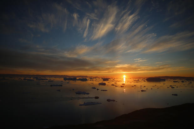 Greenland's otherworldly landscape