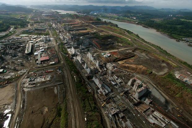 Breathtaking views of Panama Canal