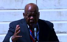 "Rep. John Lewis: ""I gave a little blood"" for voting rights"