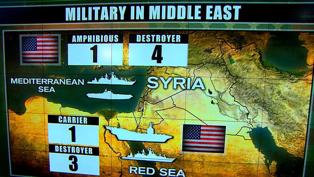 Syria target list expanding, reports say