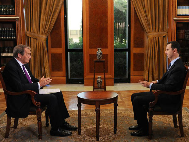 Charlie Rose interviews Syrian President Bashar Assad