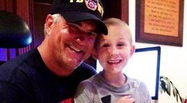 P.J. Schrantz lost his son Dustin to leukemia.