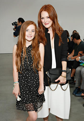 Stars at New York Fashion Week 2013