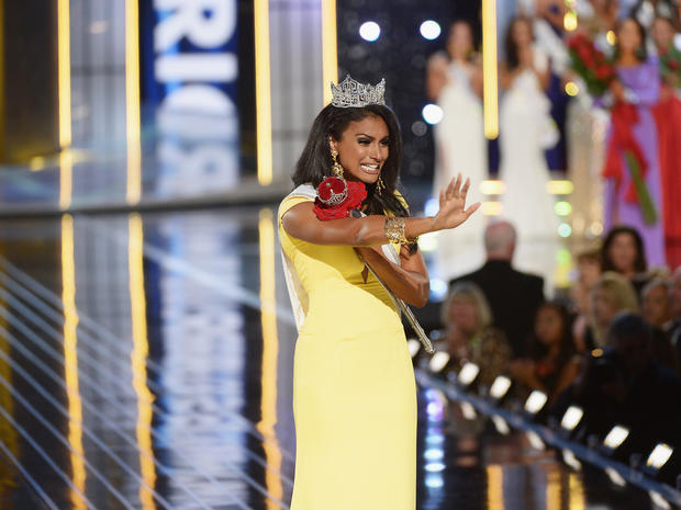 Miss New York wins Miss America