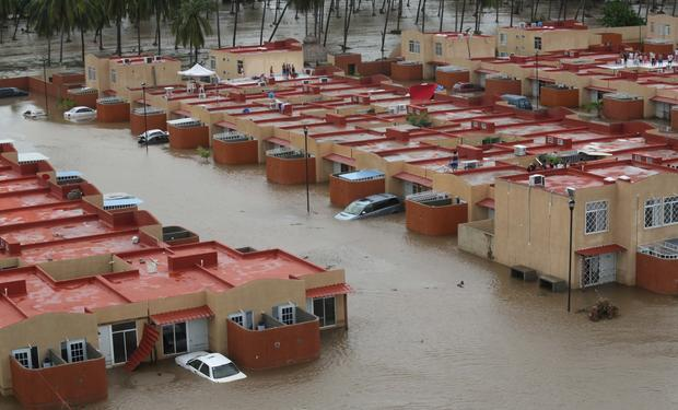 Deadly floods in Mexico