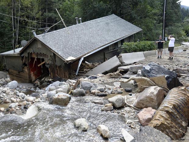 萨利纳,科罗拉多州,洪水