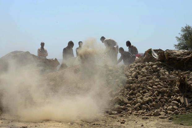 Deadly earthquake in rural Pakistan