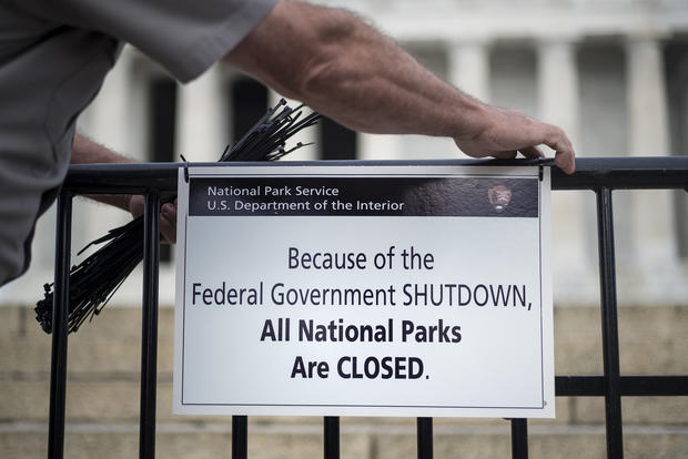 National shutdown