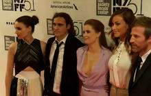 """Joaquin Phoenix steps out for """"Her"""" premiere"""