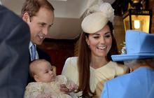 Prince George's christening